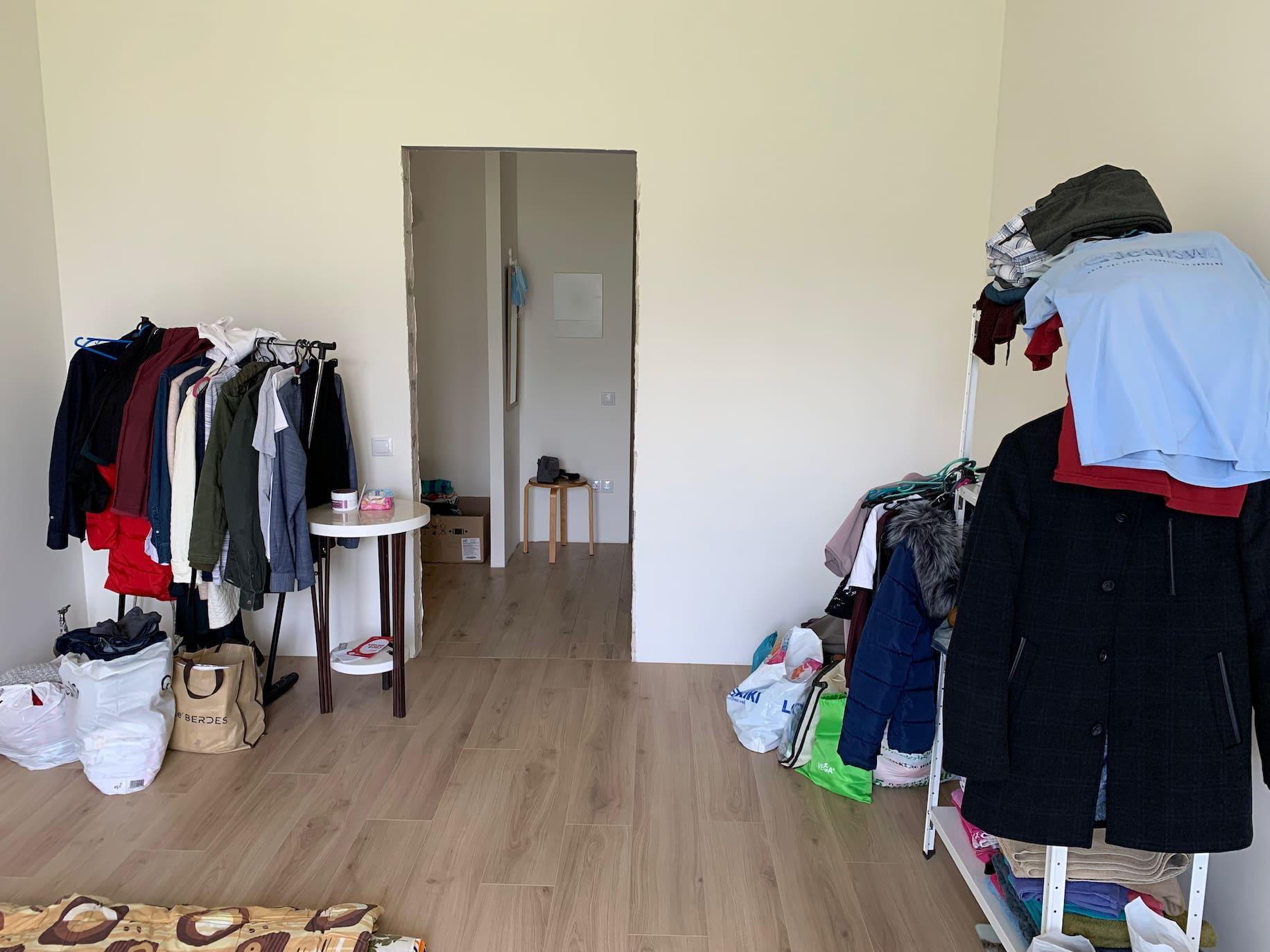 Пуста квартира після переїзду